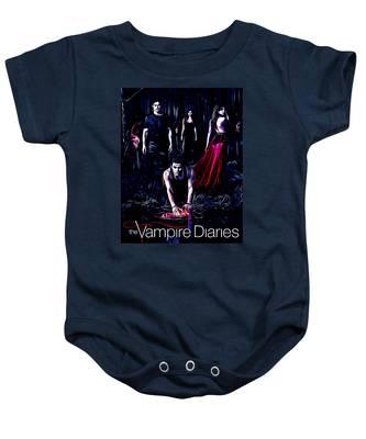 Vampire Diaries Baby Onesies Pixels