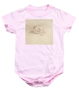 Lace And Promises Baby Onesie