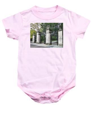 Princeton University Main Gate Baby Onesie