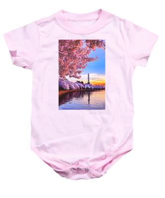 Cherry Blossom Festival  Baby Onesie