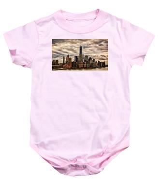 Gotham City Baby Onesie