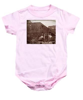 New 1936 Citroen Old Neighborhood Baby Onesie