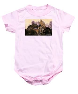 Ruined Castle Baby Onesie