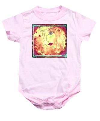 Visage De Lumiere Baby Onesie