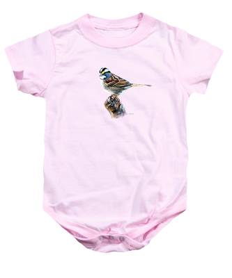 White-throated Sparrow Baby Onesie