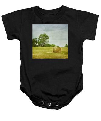 A Day At The Farm Baby Onesie