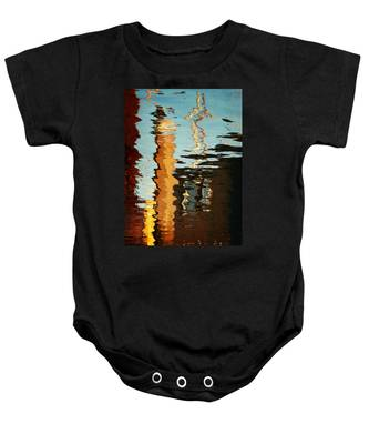 Abstract 14 Baby Onesie