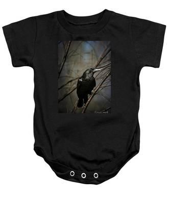 American Crow Baby Onesie