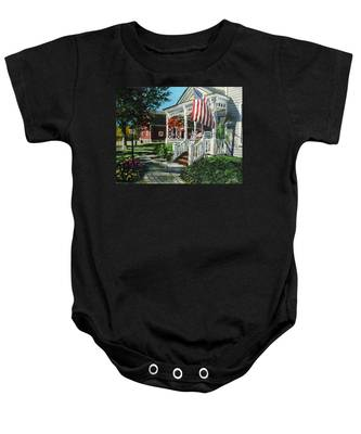 An American Dream Baby Onesie