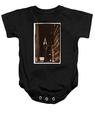 Chrysler Building Baby Onesie