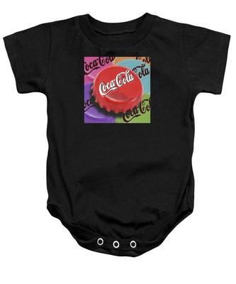 Coca-cola Cap Baby Onesie