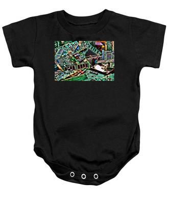 Computer Parts Baby Onesie