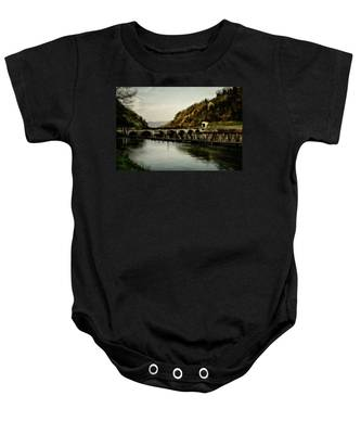 Dam On Adda River Baby Onesie