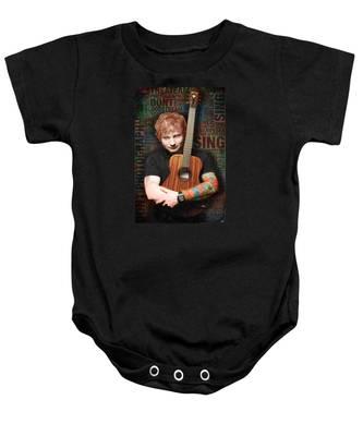 Ed Sheeran And Song Titles Baby Onesie