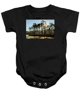 Everglades Sunrise Baby Onesie