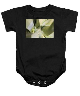 Giant Agave Abstract 3 Baby Onesie