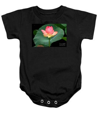 Lotus Of Late August Baby Onesie
