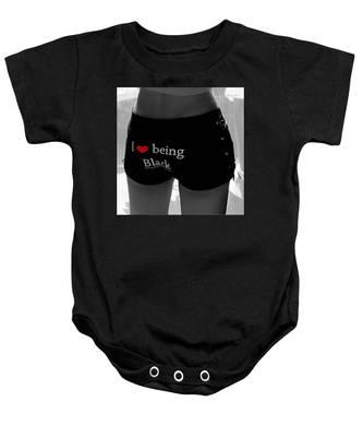 Love Being Black Baby Onesie