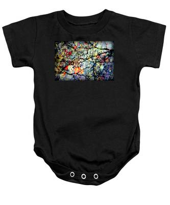Natures Stained Glass Baby Onesie