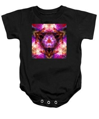 Baby Onesie featuring the photograph Orion Nebula Vi by Derek Gedney