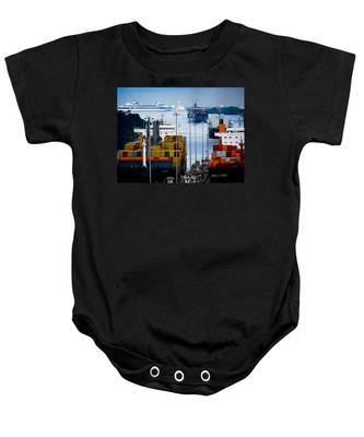 Panama Canal Express Baby Onesie
