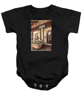 Rustic Country Welcome Baby Onesie