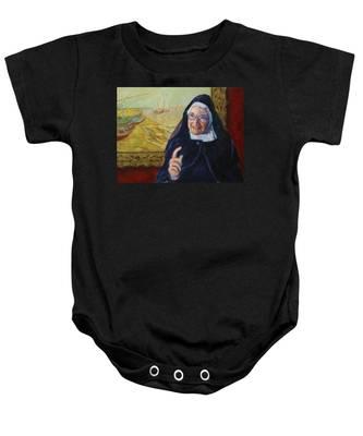 Sister Wendy Baby Onesie