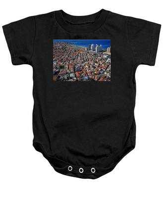 Tel Aviv - The First Neighboorhoods Baby Onesie