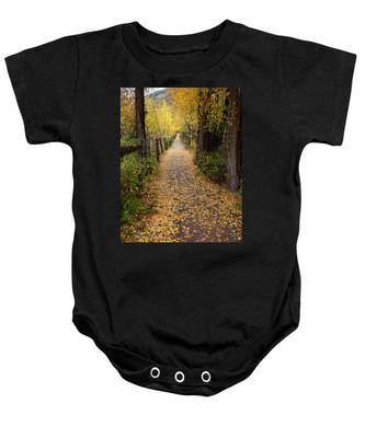The Aspen Trail Baby Onesie