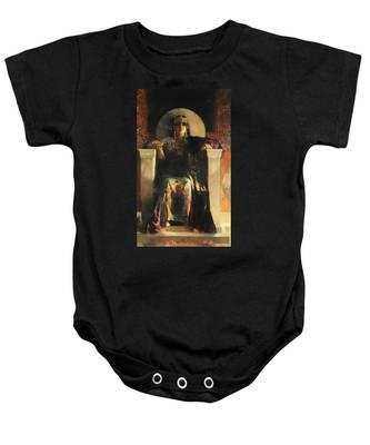 The Empress Theodora Baby Onesie