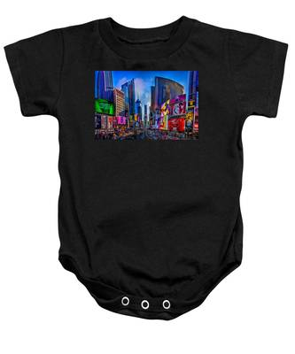 Times Square Baby Onesie