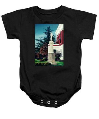 White County Courthouse - Civil War Memorial Baby Onesie