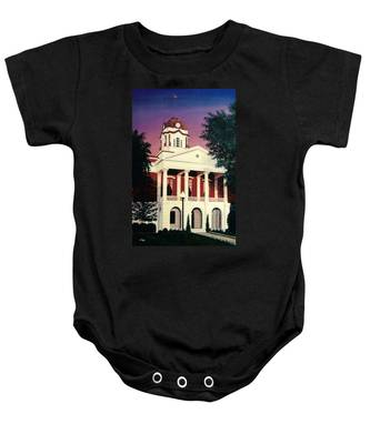 White County Courthouse Baby Onesie