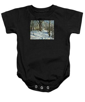 Woodland Journey Baby Onesie