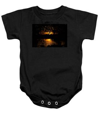 Scary Sunset Baby Onesie