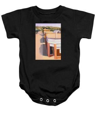Stoneham Square Three 1979 Baby Onesie