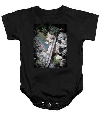 The Foot Bridge Baby Onesie