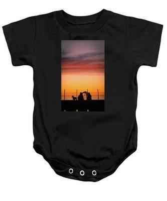 22nd St Sunset Baby Onesie