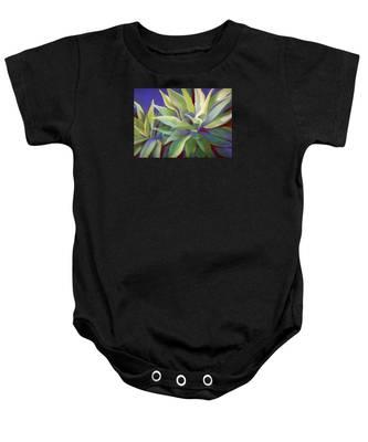 Aloe Plants In Big Sur Baby Onesie