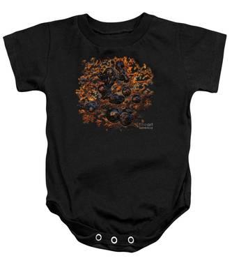 Volcanic Baby Onesie