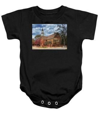 Bruton Parish Church Baby Onesie