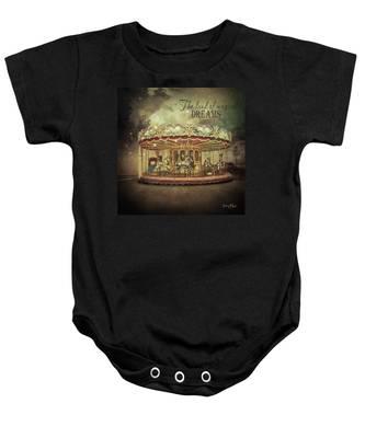 Carousel Dreams Baby Onesie