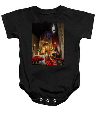 Catholic Christmas Baby Onesie