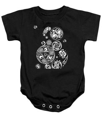 Celtic Clockwork Baby Onesie