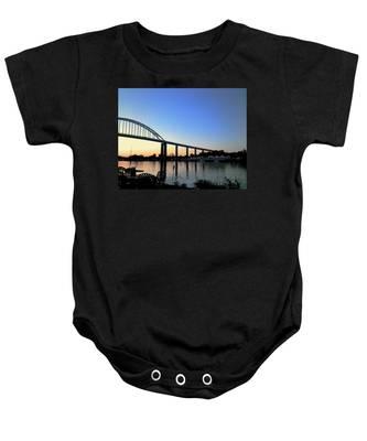Chesapeake City Baby Onesie