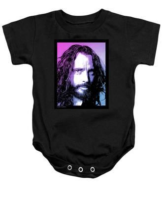 Chris Cornell Tribute Baby Onesie