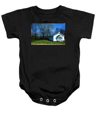 Church Highway 61 Baby Onesie