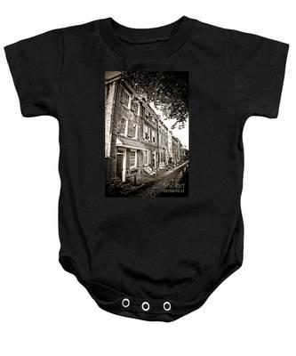 Elfreth Alley  Baby Onesie