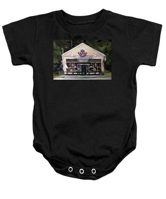 Granville Country Store Front View Baby Onesie