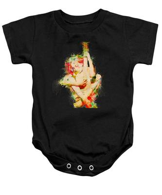 Guitar Lovers Embrace Baby Onesie